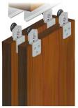 Подвесная система для шкафов купе